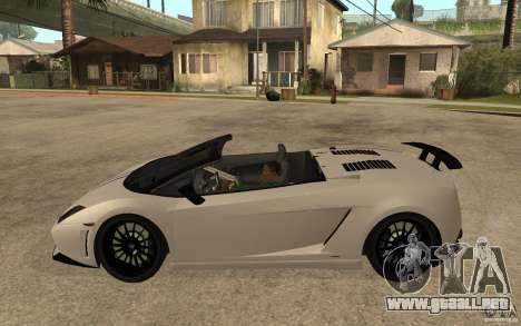 Lamborghini Gallardo LP570-4 para GTA San Andreas left