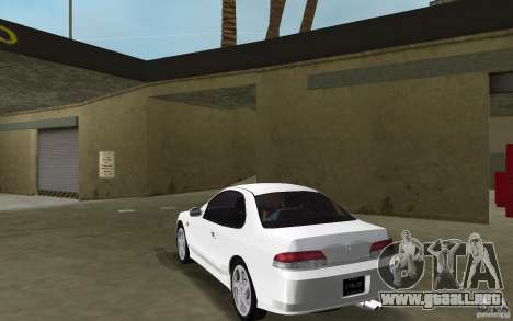 Honda Prelude 2.2i para GTA Vice City vista lateral izquierdo