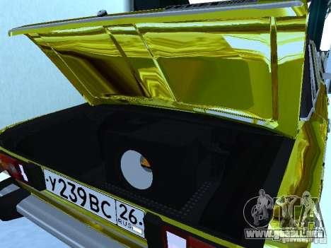 2106 Vaz (oro) para la visión correcta GTA San Andreas
