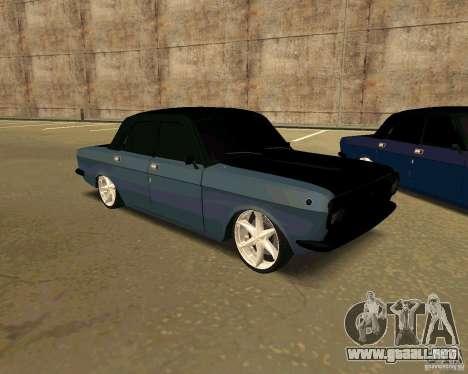 GAZ 24 para la visión correcta GTA San Andreas