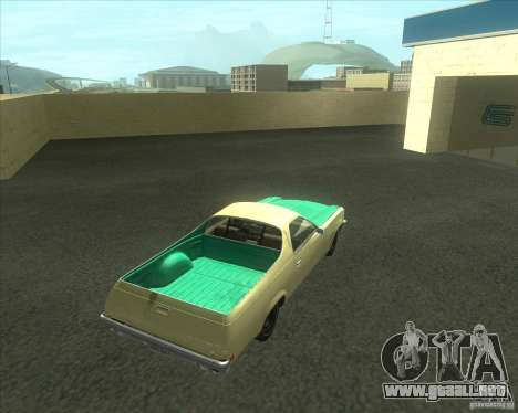 1973 Chevrolet El Camino (old) para GTA San Andreas left