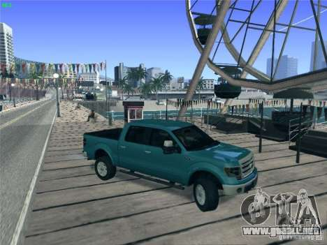 Ford F-150 2013 para GTA San Andreas left