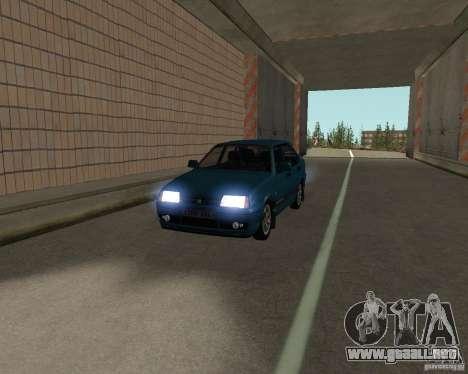 VAZ 21099 Suite para visión interna GTA San Andreas