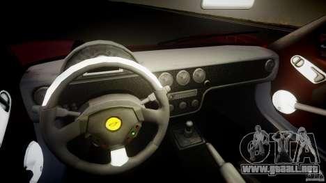 Farboud GTS 2007 para GTA 4 vista hacia atrás