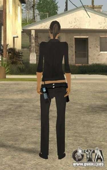 Piel de la muchacha DD para GTA San Andreas tercera pantalla