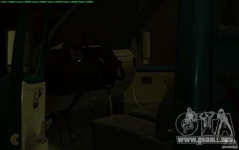 Camión de remolque 14 3302-gacela para visión interna GTA San Andreas