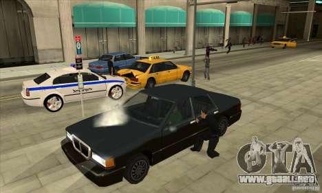Motor encendido/apagado de luces y puertas para GTA San Andreas segunda pantalla