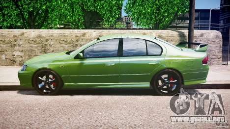 Ford Falcon XR8 2007 Rim 1 para GTA 4 left