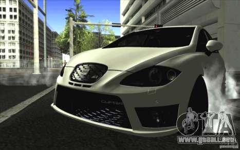 Seat Leon Cupra R para GTA San Andreas left