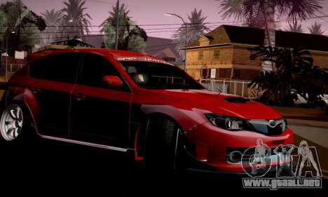 Subaru Impreza WRX Camber para GTA San Andreas
