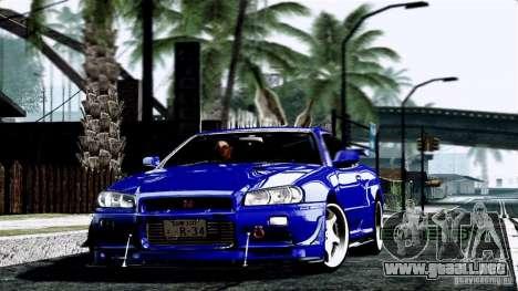 ENB By Wondo para GTA San Andreas quinta pantalla