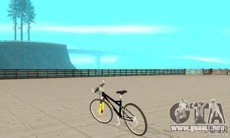 KTM Bike beta para GTA San Andreas vista posterior izquierda