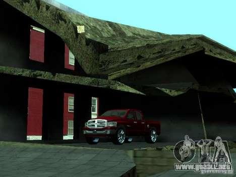 Dodge Ram 1500 v2 para visión interna GTA San Andreas