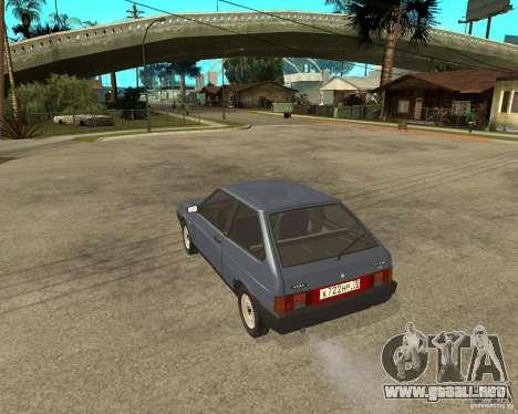 VAZ 2108 para GTA San Andreas left