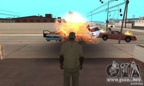 Hot adrenaline effects v1.0 para GTA San Andreas segunda pantalla