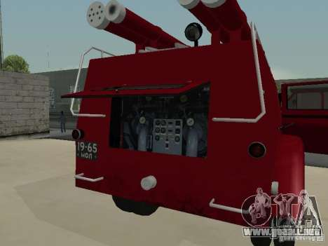 GAZ 51 20 ADC para la vista superior GTA San Andreas