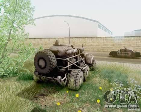Cheta pata de las zonas fronterizas para GTA San Andreas left