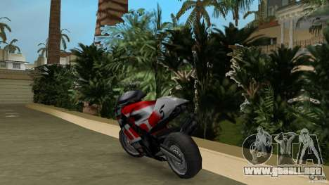 Yamaha YZR 500 V1.2 para GTA Vice City vista lateral izquierdo