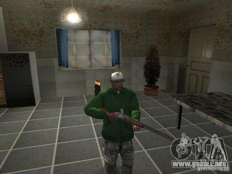 Pak domésticos armas V2 para GTA San Andreas novena de pantalla