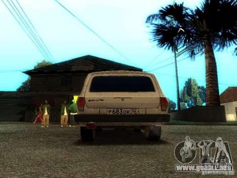 Versión GAZ VOLGA 310221 TUNING para la visión correcta GTA San Andreas