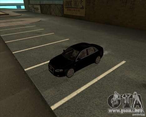 AUDI S4 Sport para visión interna GTA San Andreas