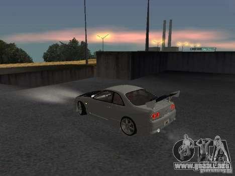 Nissan Skyline R33 SGM para GTA San Andreas vista posterior izquierda