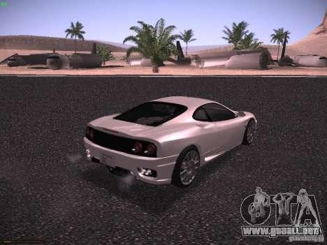 Ferrari 360 Modena para la visión correcta GTA San Andreas