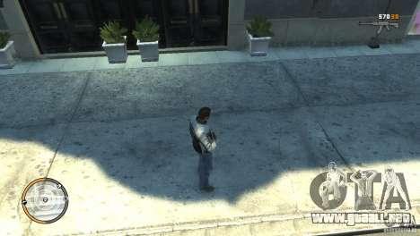 CG4 Radar Map para GTA 4 adelante de pantalla