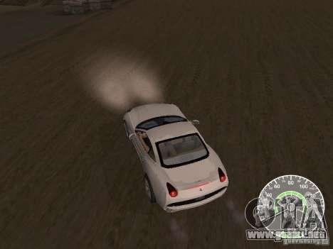 Ferrari California v1 para la visión correcta GTA San Andreas
