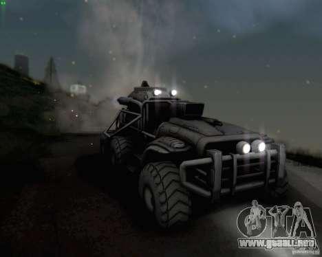 Cheta pata de las zonas fronterizas para visión interna GTA San Andreas
