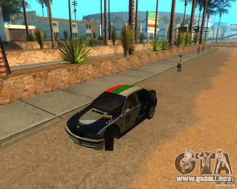 BMW 318i E46 2003 para GTA San Andreas vista hacia atrás