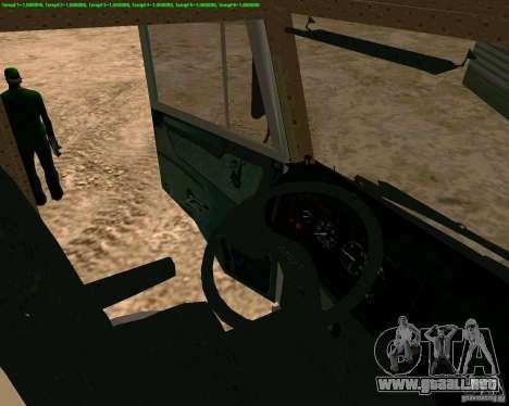 KAMAZ 65117 para la visión correcta GTA San Andreas
