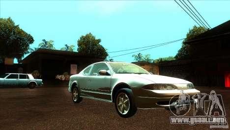 Oldsmobile Alero 2003 para GTA San Andreas vista hacia atrás