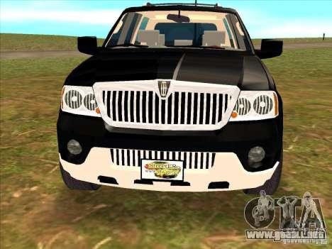 Lincoln Navigator para la visión correcta GTA San Andreas