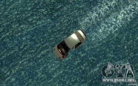 Honda Civic Mugen RR Boat para la visión correcta GTA San Andreas