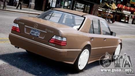 Mercedes-Benz W124 E500 1995 para GTA 4 ruedas