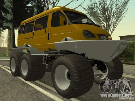 Gacela 2705 swamp buggy para GTA San Andreas