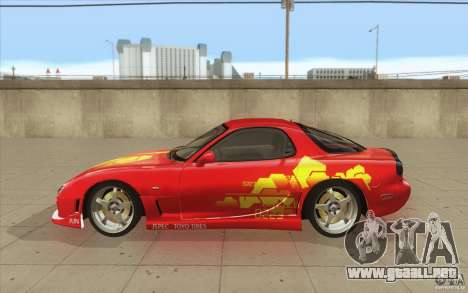 Mazda RX-7 - FnF2 para GTA San Andreas left