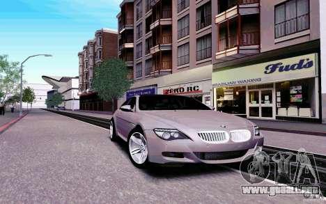 New Graphic by musha v4.0 para GTA San Andreas tercera pantalla