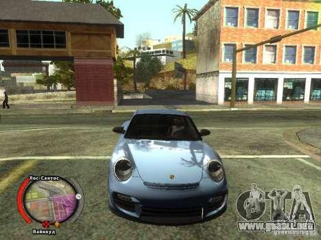 New HUD by shama123 para GTA San Andreas tercera pantalla