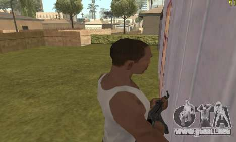 AKMS para GTA San Andreas sexta pantalla