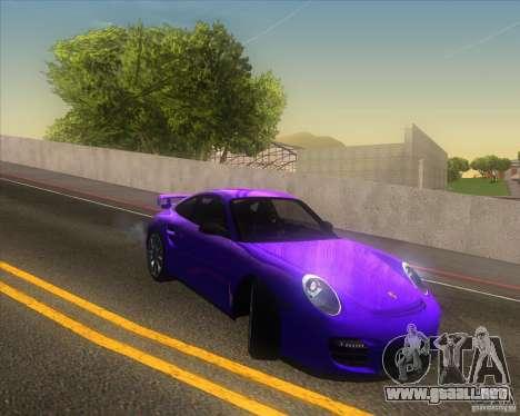 Porsche 911 GT2 (997) para la vista superior GTA San Andreas