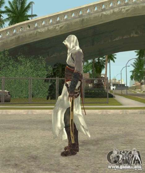 Assassins skins para GTA San Andreas sexta pantalla