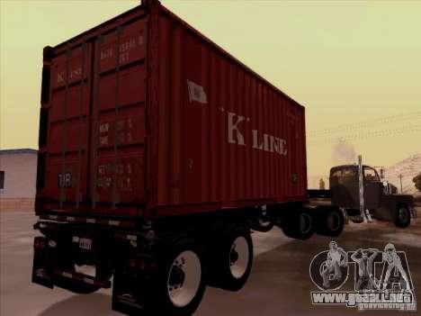 Container para la visión correcta GTA San Andreas