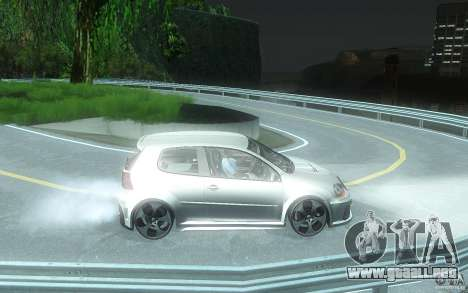 VolksWagen Golf GTI W12 TT Black Revel para GTA San Andreas vista hacia atrás