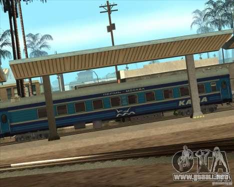 Coche KAMA para GTA San Andreas left