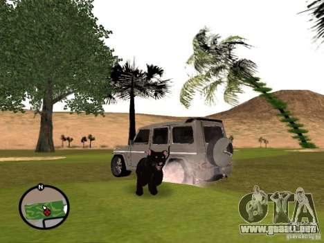 Animales en GTA San Andreas 2.0 para GTA San Andreas tercera pantalla