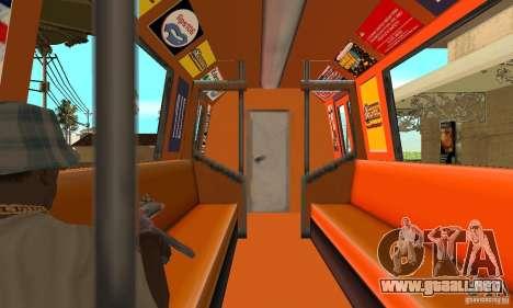 Liberty City Train CP para la visión correcta GTA San Andreas