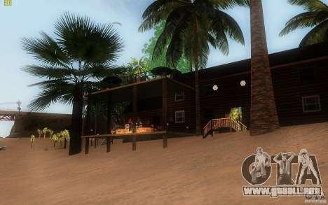 New Country Villa para GTA San Andreas sucesivamente de pantalla