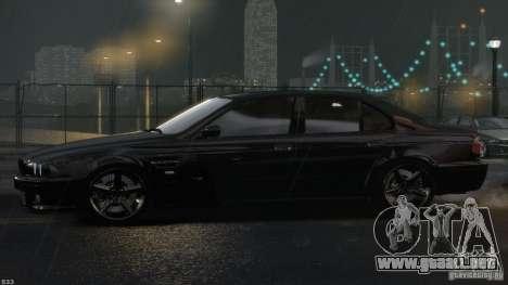 BMW M5 E39 AC Schnitzer Type II v1.0 para GTA 4 vista superior